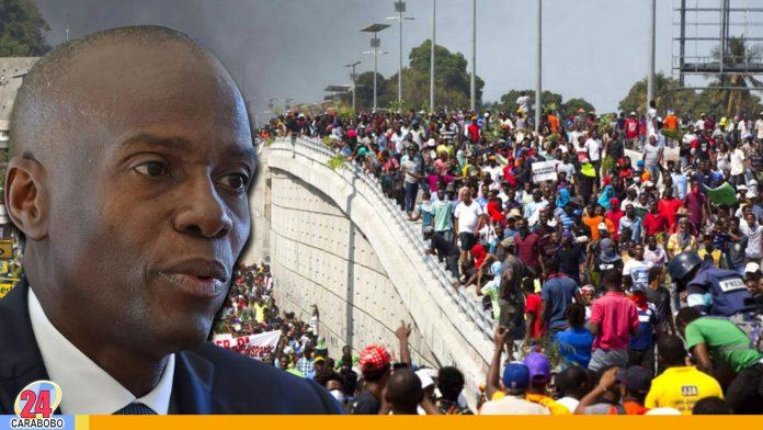 Presidente-Moïse-asediado-por-miles-de-haitianos-exigiendo-su-renuncia----WEB-N24 - Noticias 24 Carabobo