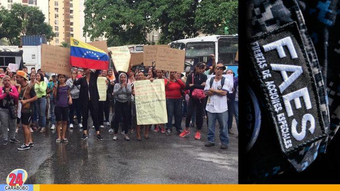 Protestas-en-Petare-contra-los-operativos-de-las-FAES----WEB-N24 - Noticias 24 Carabobo