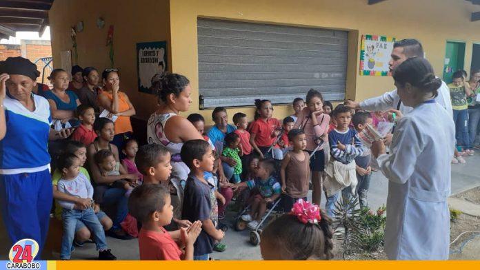N24C - En el sector Trapichito al sur de la ciudad; fueron beneficiados con la jornada de salud alrededor de más de 400 infantes, en esta jornada