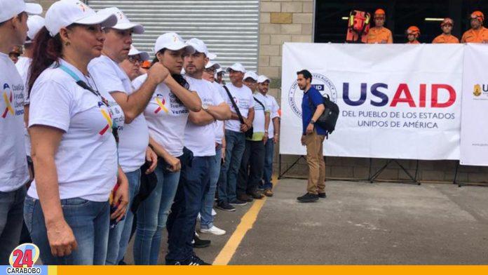 USAID decide entregar la ayuda humanitaria en la colombo-venezolana - noticias 24 carabobo