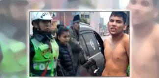 WEB-N24-Arrestado-Venezolano-en-Perú-por-golpear-a-una-policía-en-medio-de-una-discusión - Noticias 24 Carabobo