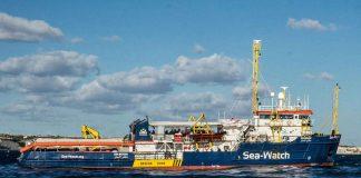 Barco humanitario Sea-Watch anunció que forzaba el bloqueo de las aguas italianas-N24C