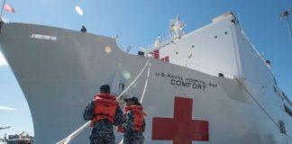 Buque hospital parte desde EEUU - noticias 24 carabobo