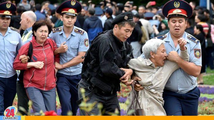 WEB-N24-Elecciones-en-Kazajistán-culminan-con-mas-de-500-detenidos-por-protestas - Noticias 24 Carabobo