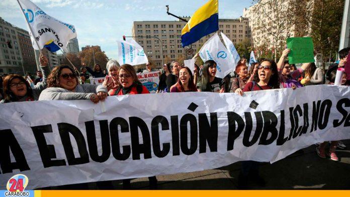 Noticias 24 Carabobo - Protestan y marchan profesores