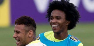 Willian reemplazará a .Ney. en selección brasileña