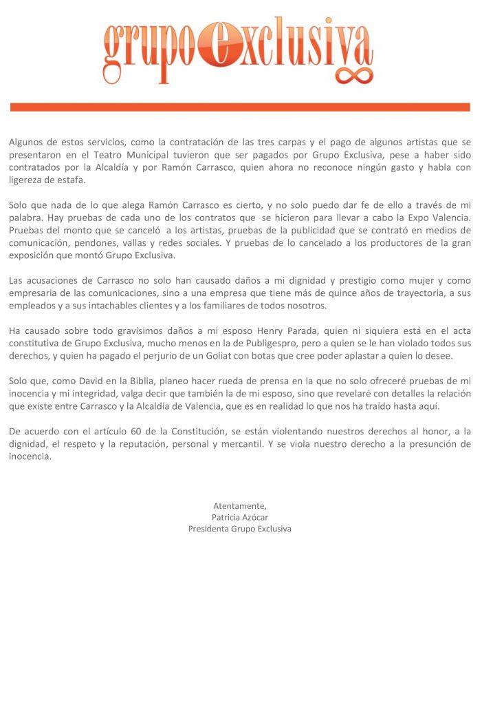 Patricia Azócar acusa a Coronel Ramón Carrasco - noticias 24 carabobo
