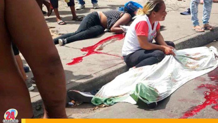 Noticias 24 Carabobo - tragedia en san felix 7 personas murieron en una parada