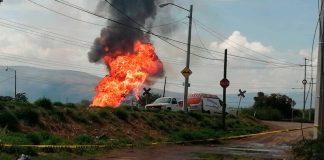 Noticias 24 Carabobo - explosion ducto gas celaya