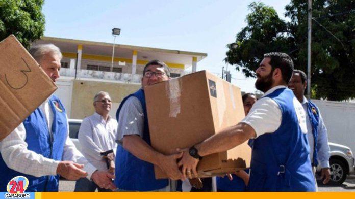Noticias 24 Carabobo - Entrega de ayuda humanitaria confirmada en varios estados por guaidó