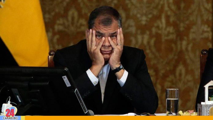 Expresidente Rafael Correa