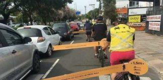 Ciclistas piden metro y medio