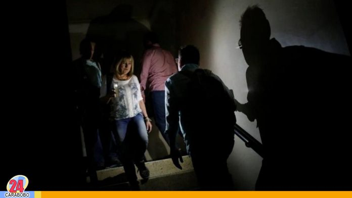 Caracas sin luz