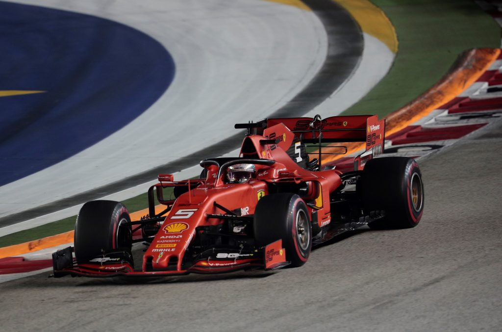 Vettel se impuso en Singapur - noticias24 Carabobo