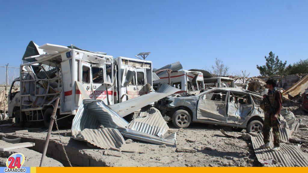 Ataque con drones en Afganistán dejó al menos nueve muertos