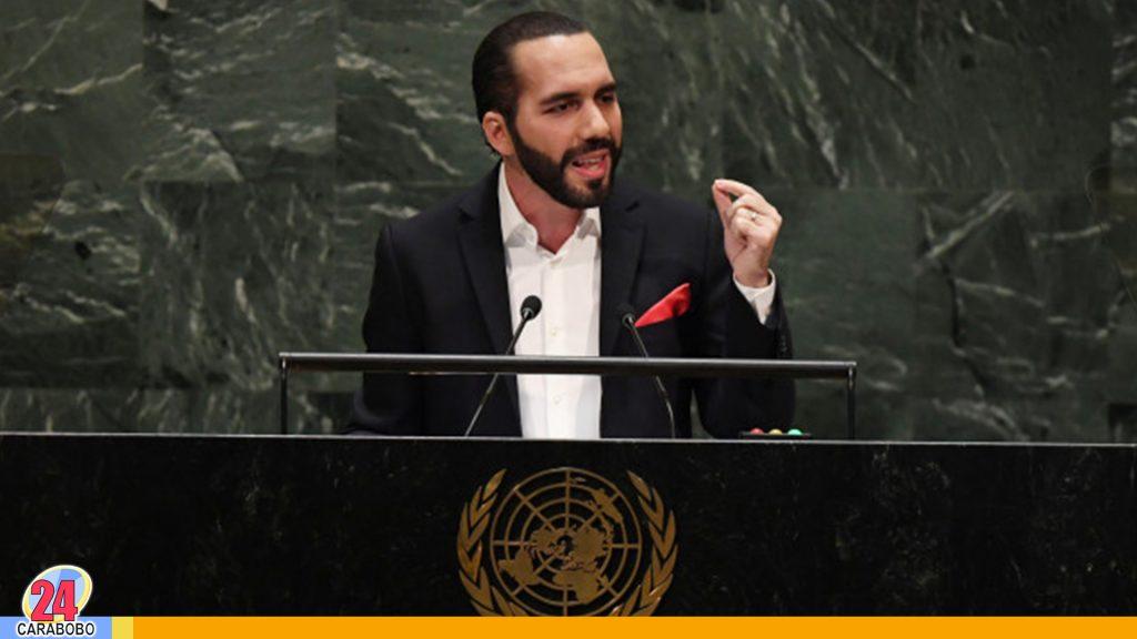 Bukele en la ONU