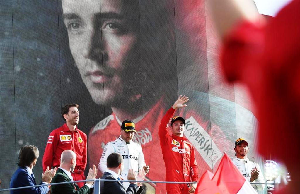 Charles Leclerc venció en Monza - noticias24 Carabobo