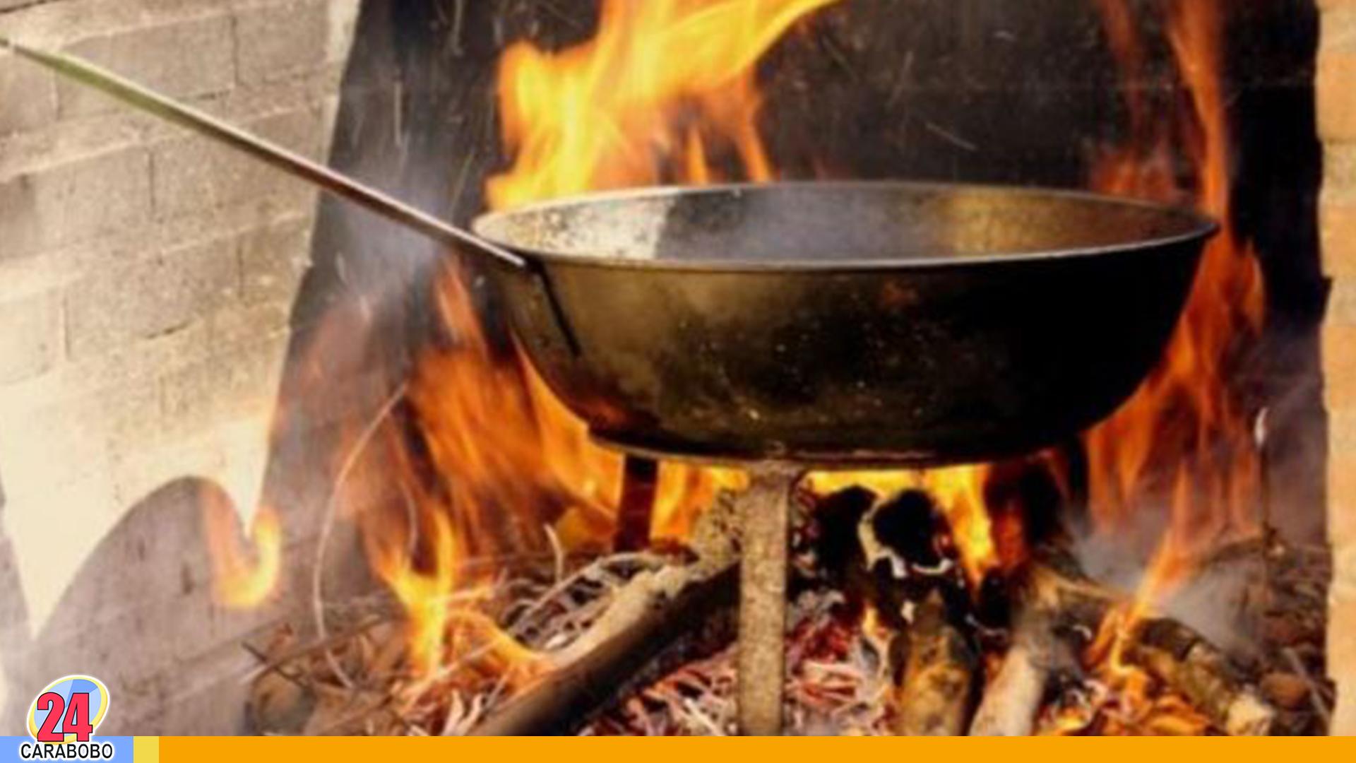 cocinar con leña