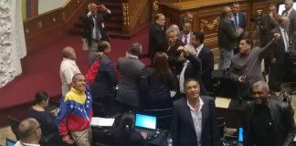 Diputados oficialistas de la Asamblea Nacional