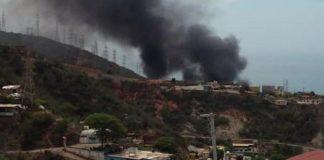 Explosión en Tacoa