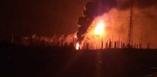 incendio en refinería de Amuay - Noticias 24 Carabobo