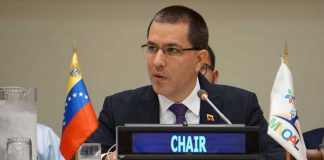 Jorge Arreaza en la ONU