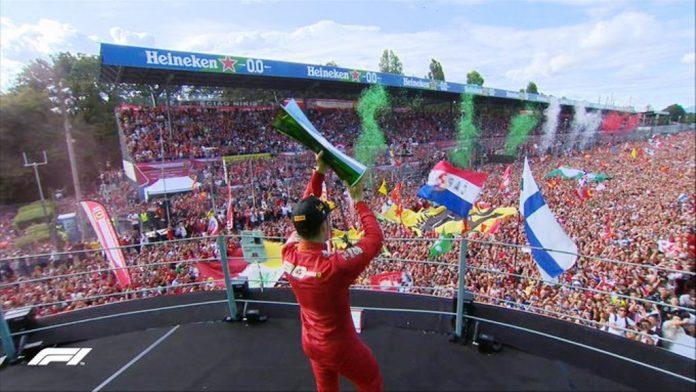 Charles Leclerc venció en Monza -noticias24 Carabobo