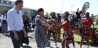 Duques de Sussex bailan - Noticias 24 Carabobo