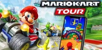 Mario Kart Tour app