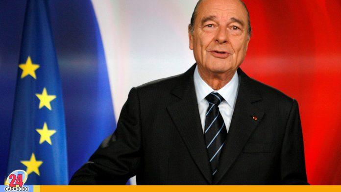 Jacques Chirac expresidente de Francia