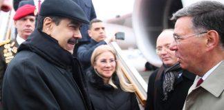 Nicolás Maduro llegró a Rusia - Nicolás Maduro llegó a Rusia