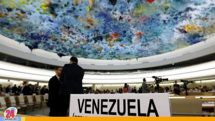 resolución sobre Derechos Humanos en Venezuela