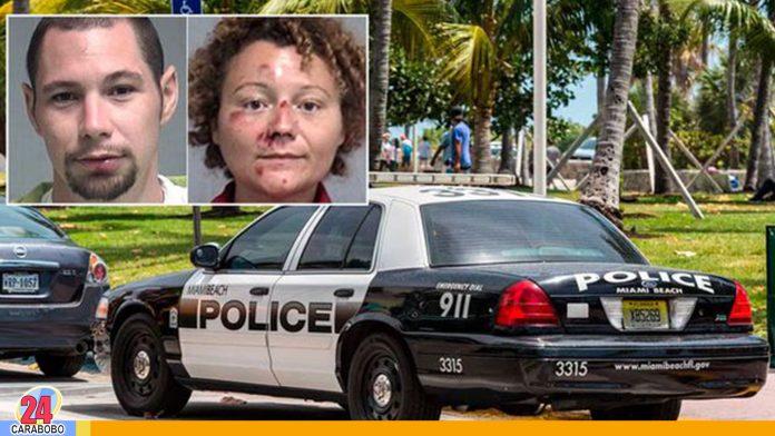 Pareja arrestada en Florida