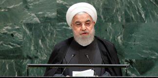 Hasán Rohaní en la ONU