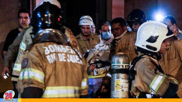 Incendio en hospital