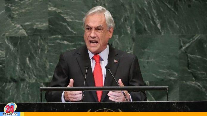 Sebastián Piñera en la ONU