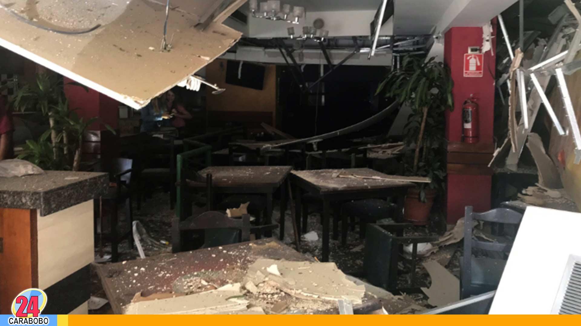 explosión en Las Mercedes