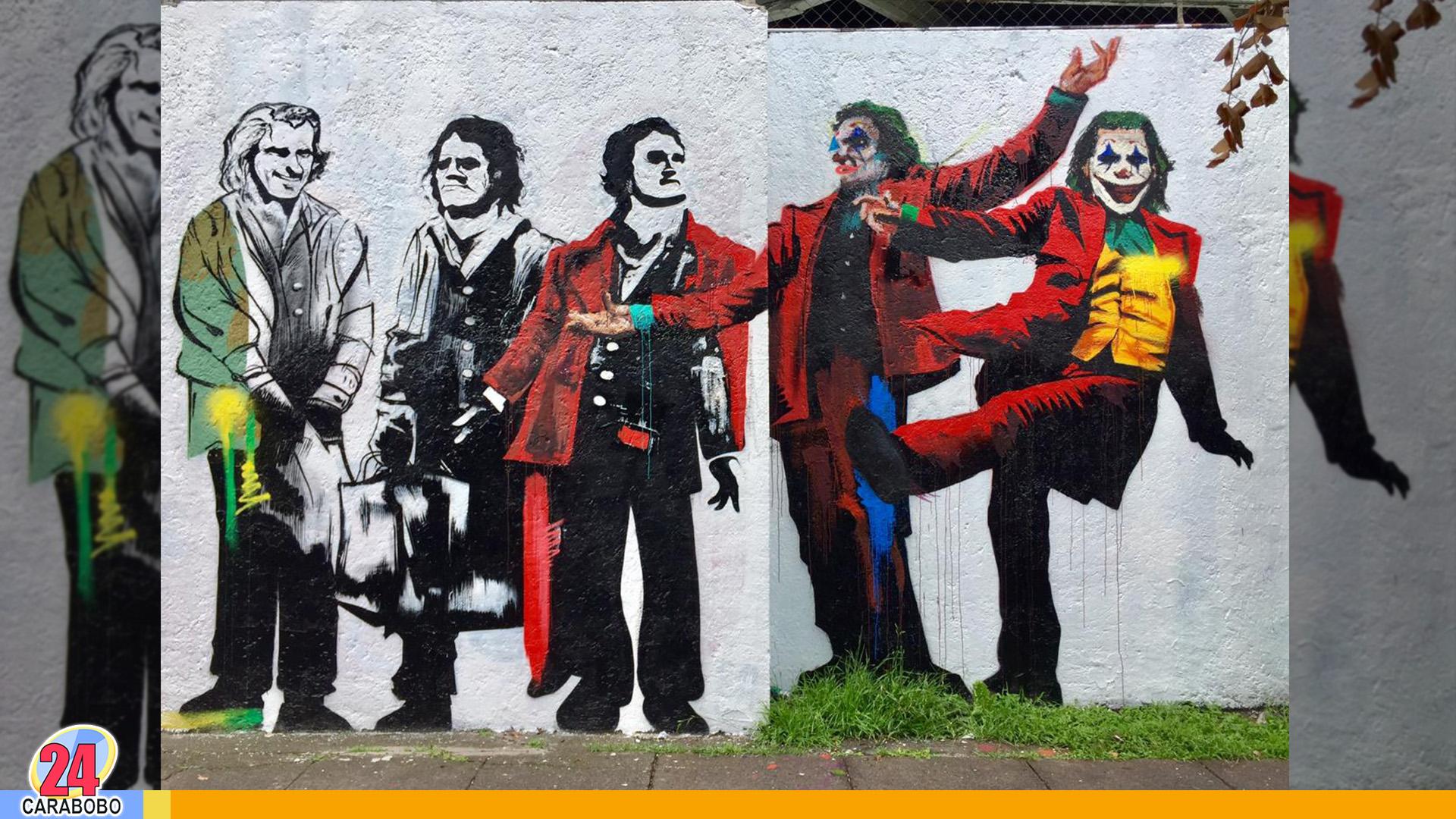 Murales de El Joker - Murales de El Joker