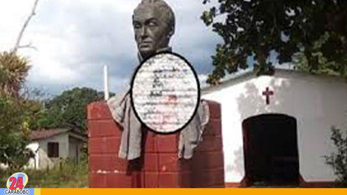 Cabeza humana en Plaza Bolívar - Cabeza humana en Plaza Bolívar
