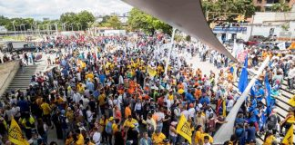 Dos protestas con distintos fines - noticias24 Carabobo