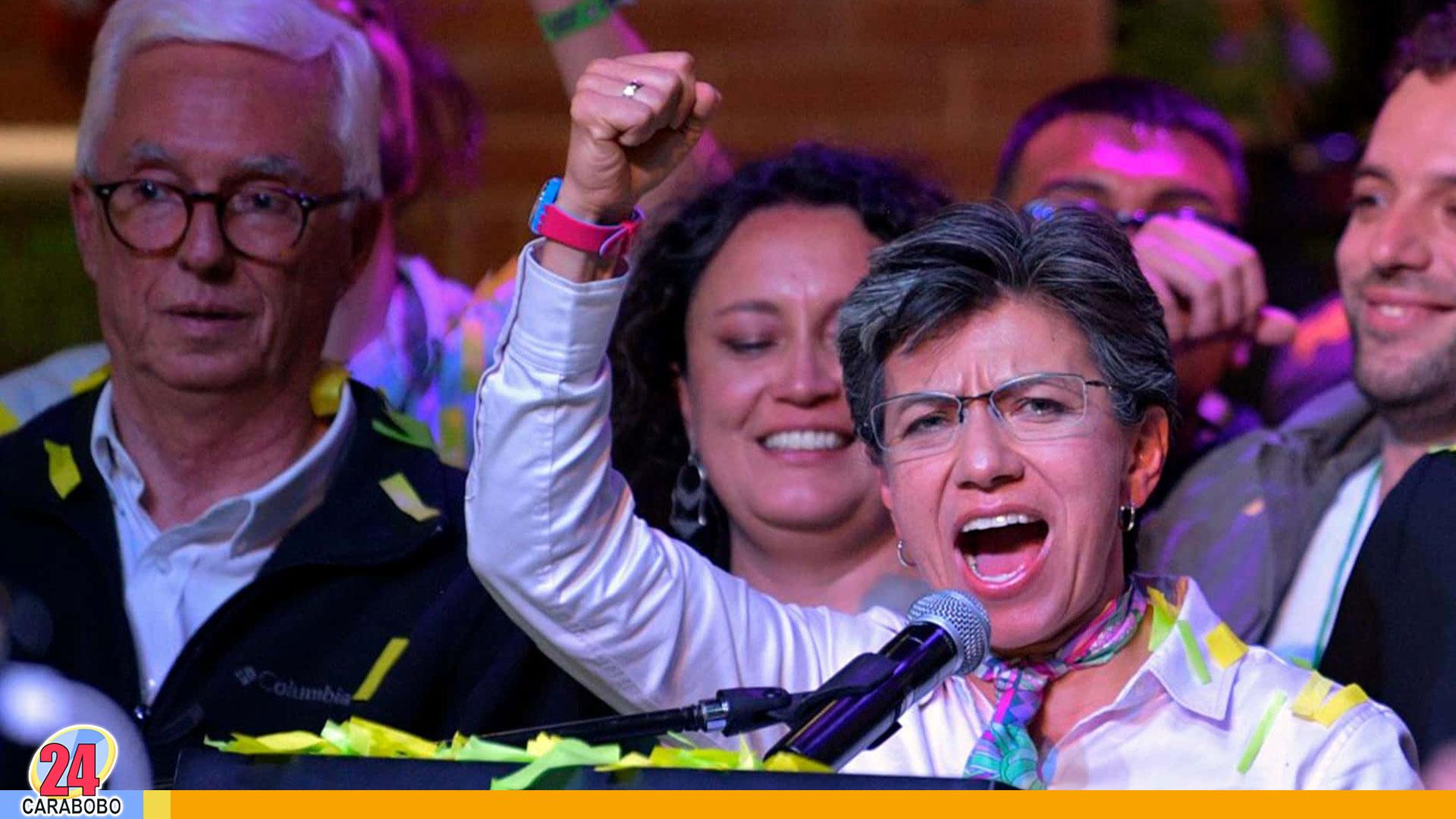 Alcaldesa Claudia López – alcaldesa Claudia López