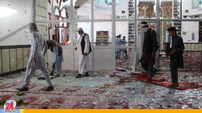 Atentado en Afganistán dejó al menos 63 muertos y 35 heridos