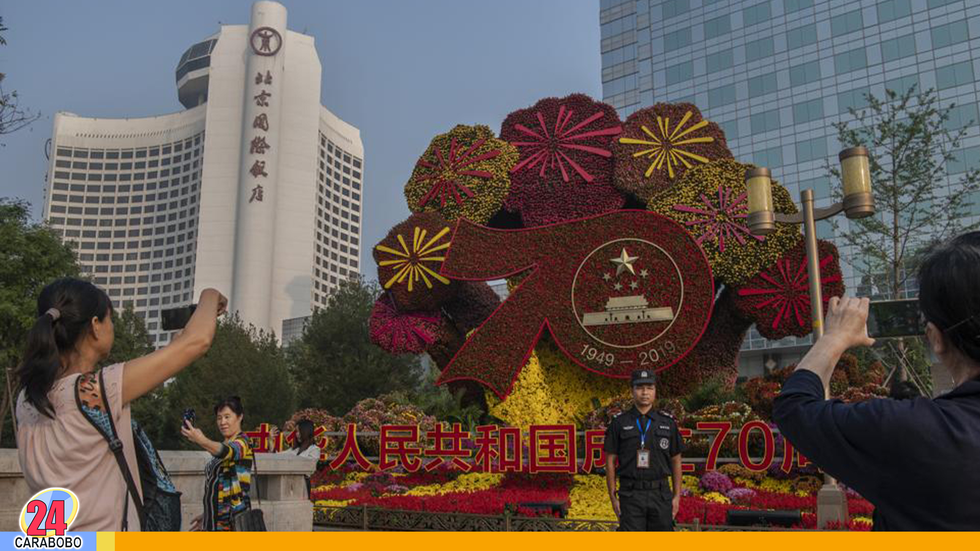 China celebra