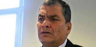 Rafael Correa salió por Valencia - Rafael Correa salió por Valencia