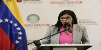 Declaraciones de Delcy Rodríguez sobre el caso de Crystallex