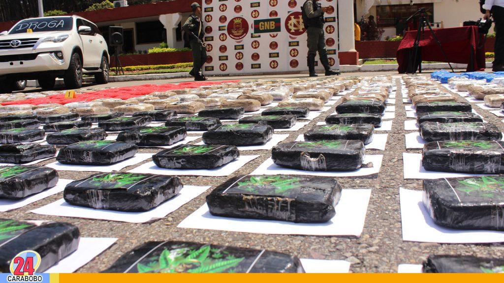 Droga incautada en Tachira