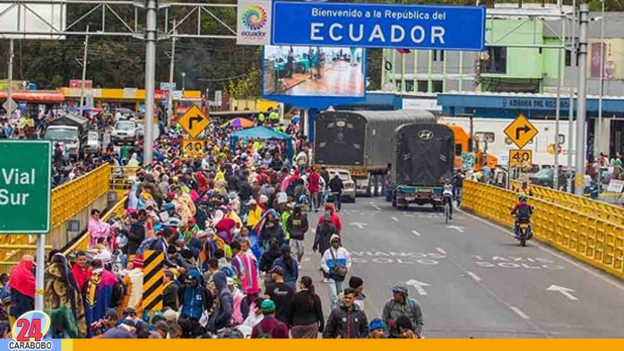 visa humanitaria en Ecuador