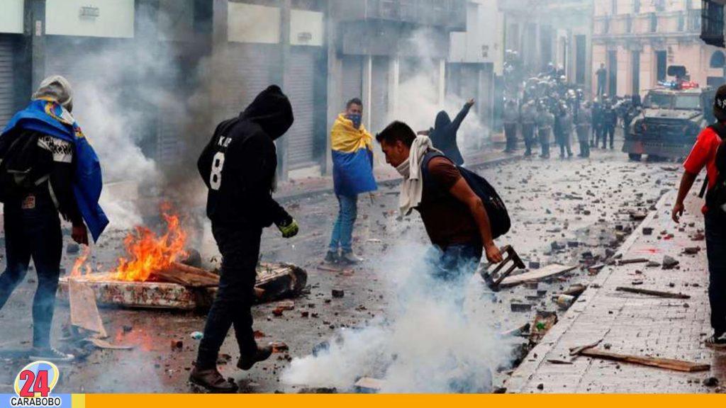 Estados Unidos sobre Ecuador:
