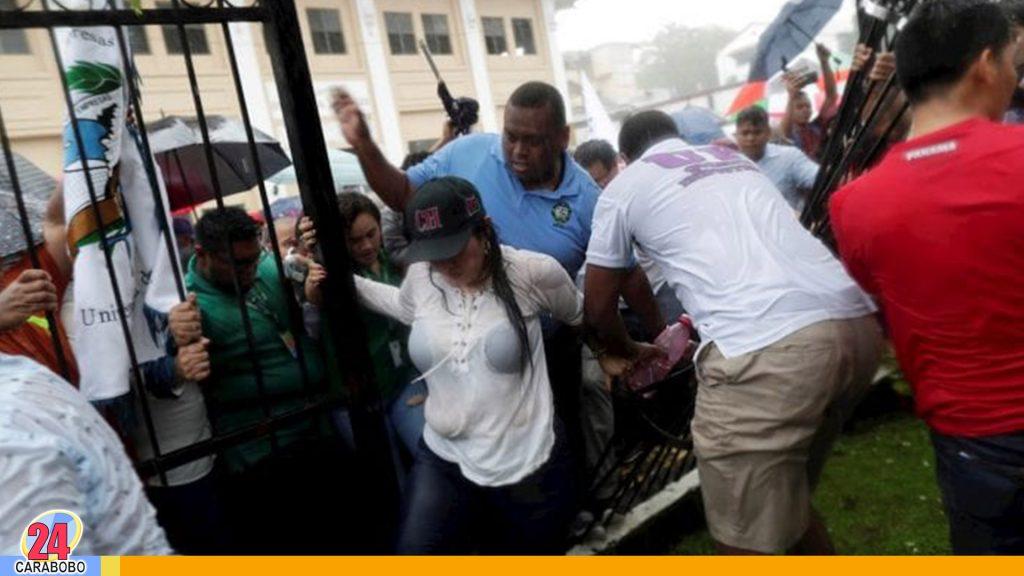 protestas en Panamá