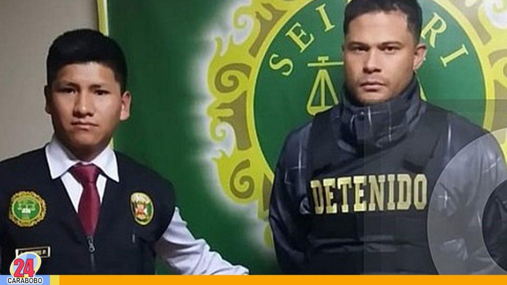 Detenido José Acosta Hurtado